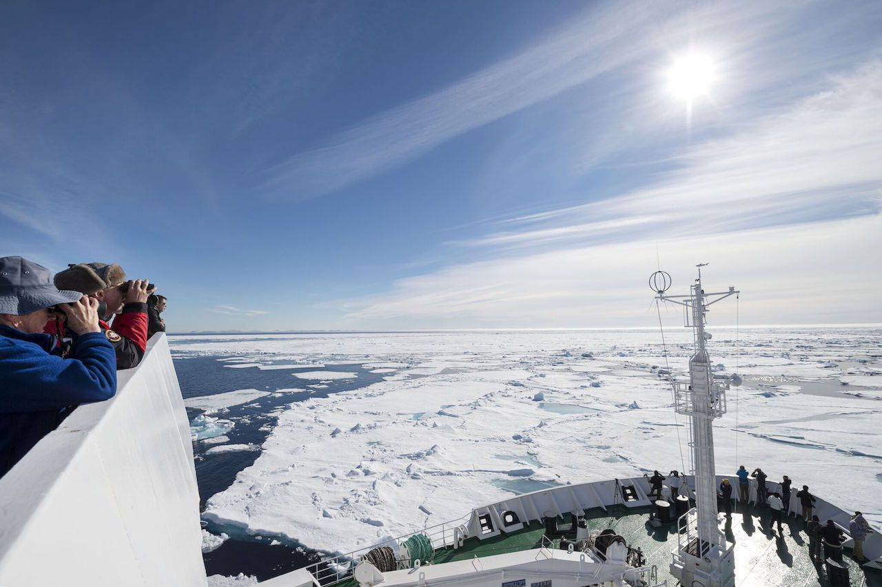 Voyage through Canada's North West Passage aboard Akademik Ioffe
