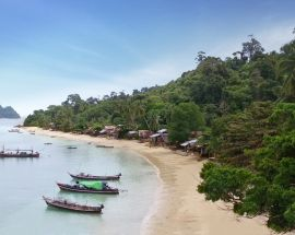 Myanmar's Mergui Archipelago Photo 9